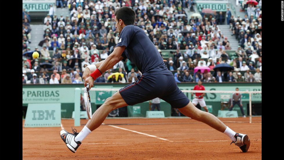 Djokovic was going for the fourth and final entry in his Grand Slam, the first man in 43 years to do so.