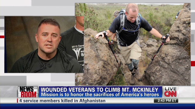Amputee vets to climb Mt. McKinley