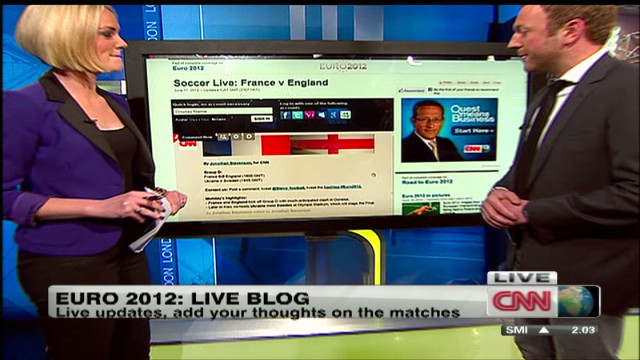 Euro 2012 soccer live blog on CNN.com