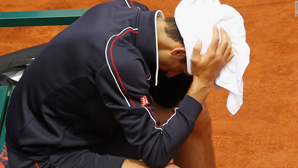 Djokovic had been seeking to become the first man since Rod Laver in 1969 to hold all four grand slam titles.