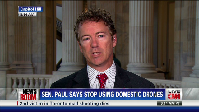 Sen. Paul says no to domestic drones