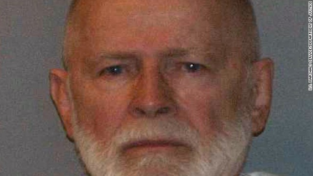 "Former mob boss and fugitive James ""Whitey"" Bulger."