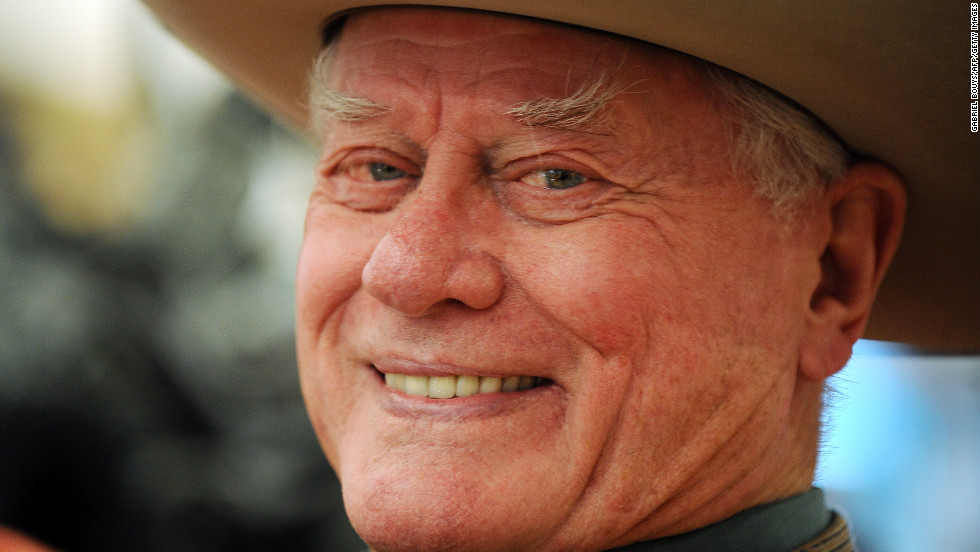 "Actor <a href=""http://www.cnn.com/2012/11/24/us/larry-hagman-obit/index.html"" target=""_blank"">Larry Hagman</a>, who played scheming oil tycoon J.R. Ewing on ""Dallas,"" died November 23 of complications from cancer. He was 81."