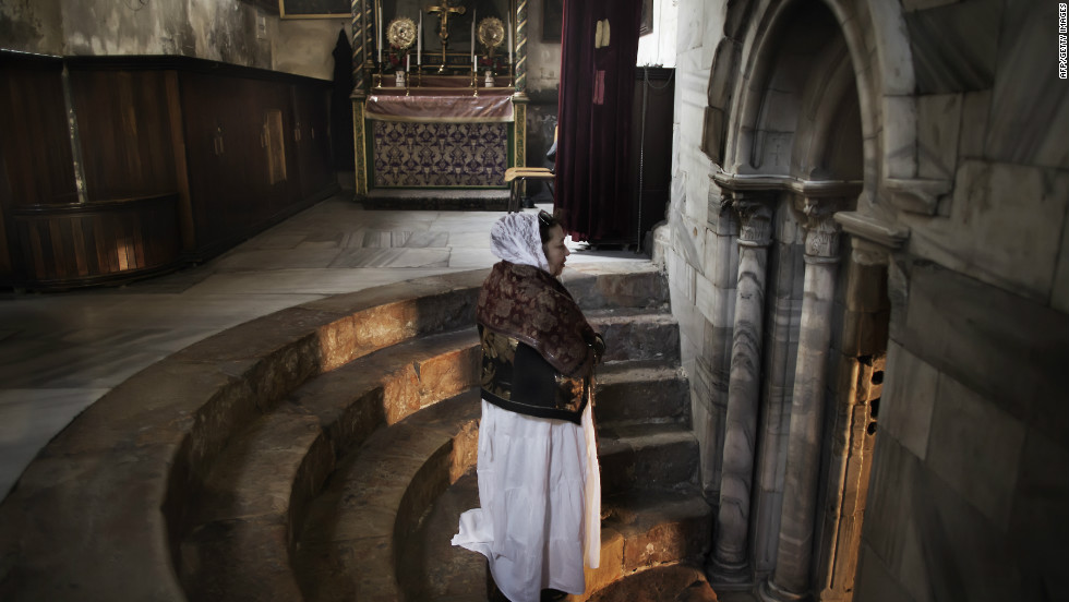 In June 2012, the Church of the Nativity became the first World Heritage site in the Palestinian territories. Christian pilgrims flock to the church, which features a grotto considered since at least the 2nd century to be the site of Christ's birth.