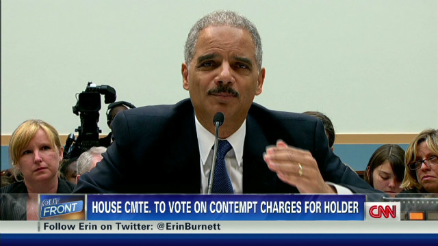 Front Lines: Holder in contempt?