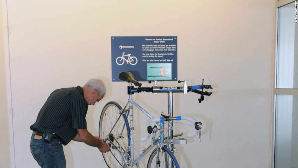 Portland, Oregon, is widely regarded as one of the nation¹s most bikeable cities, so it's only logical its airport would want to install a bike assembly station.