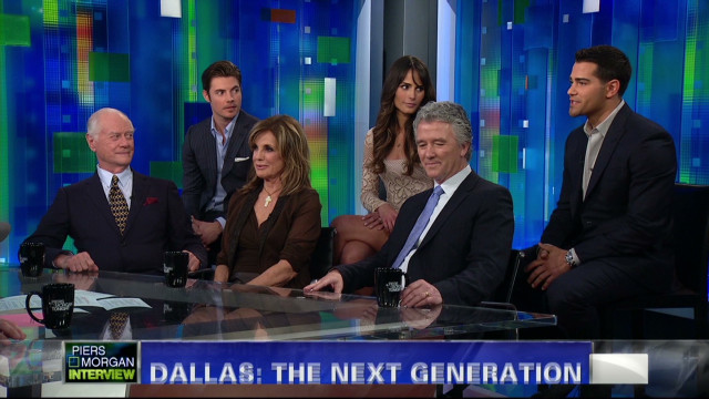 "The cast of the new ""Dallas"""