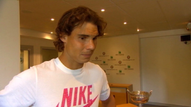 Rafael Nadal on French Open triumph