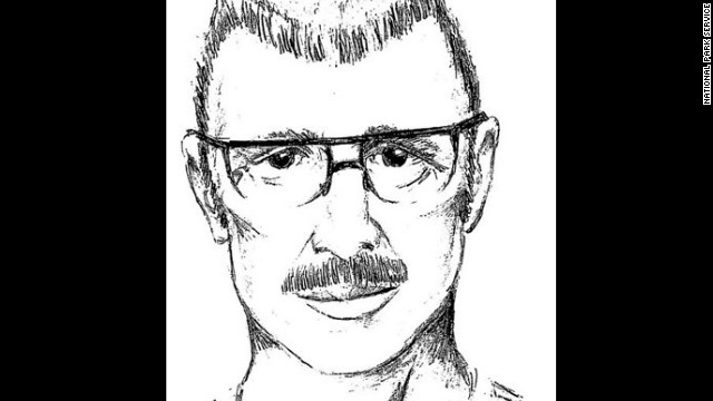 The National Park Service released this sketch of the man who assaulted a woman on the Gatlinburg Trail on June 8.