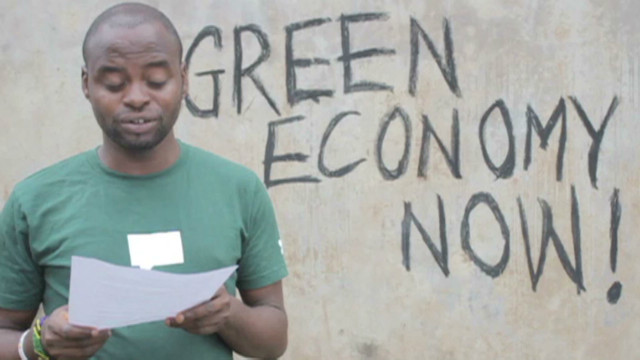 Date With History: Youth want green future