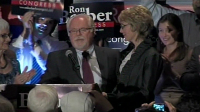 Barber wins Giffords' House seat