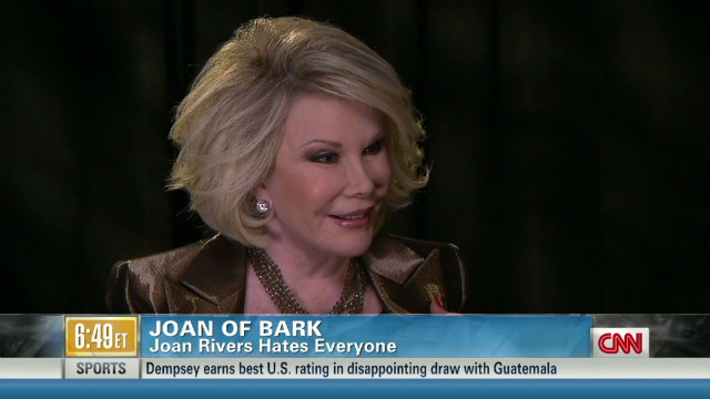 2012: Joan Rivers on staying relevant
