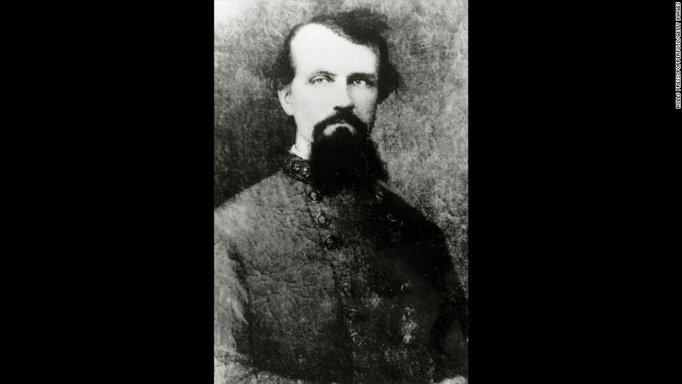 Gen. Nathan Forrest, a former Confederate soldier, slave trader and plantation owner, became Grand Wizard of the Ku Klux Klan in 1867.
