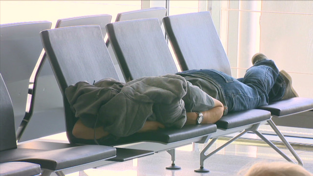 How to sleep during your layover