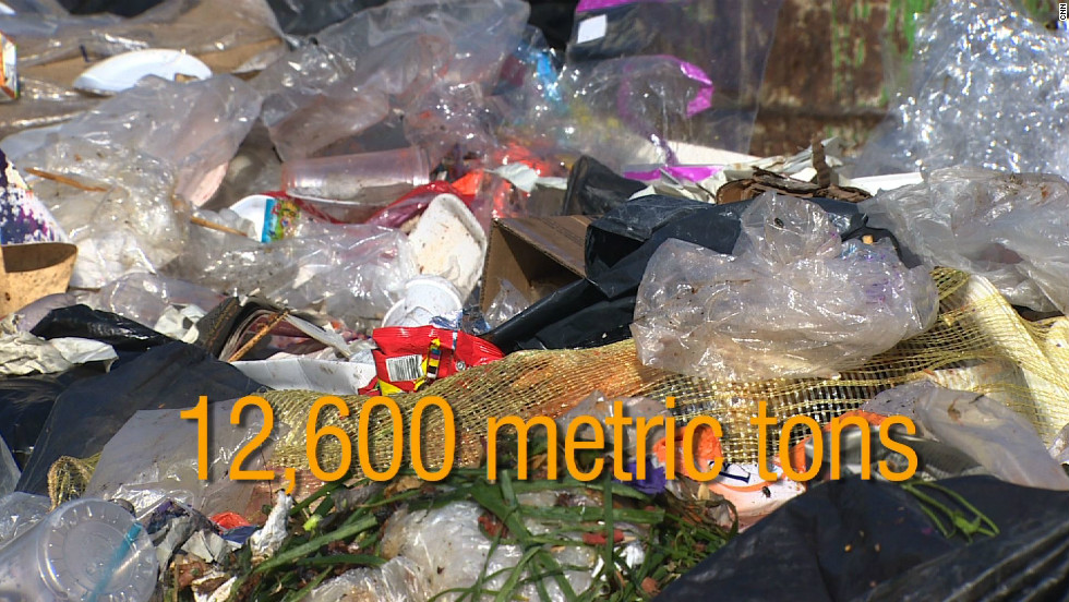 ... who combined create a mountain of trash. An estimated 12,600 metric tons was being deposited daily in the Bordo Poniente landfill site before it closed late last year. Now, a new barter scheme called Mercado de Trueque is incentivizing residents to recycle more waste.