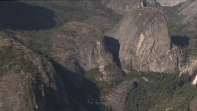 Falling Rock Danger at Yosemite