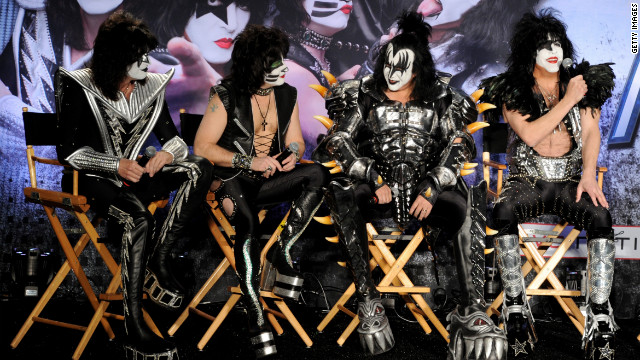 "KISS announces ""The Tour"" with Motley Crue in March. The group has made a deal with Fox's ""Family Guy."""