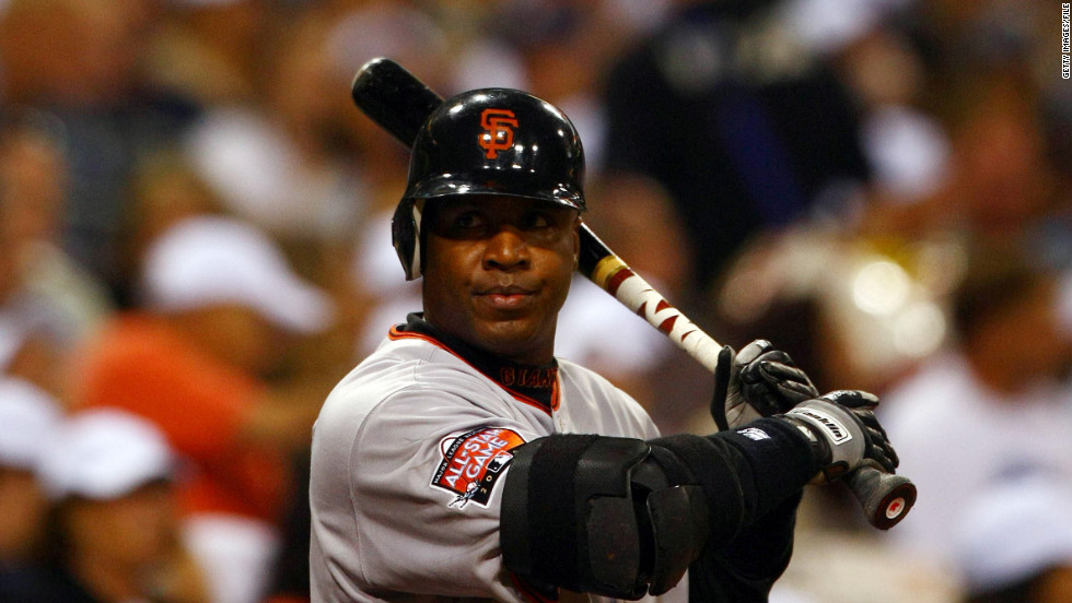 Baseball outfielder Barry Bonds, the single-season and all-time home run record holder, was convicted in 2011 of obstruction of justice for impeding a grand jury investigating the use of performance-enhancing drugs. Bonds had testified that he thought his personal trainer was giving him arthritis balm and flaxseed oil, not steroids or testosterone.