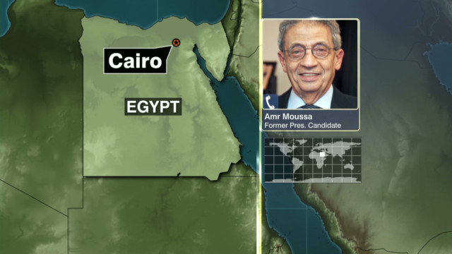 Opposing views on ruling in Egypt