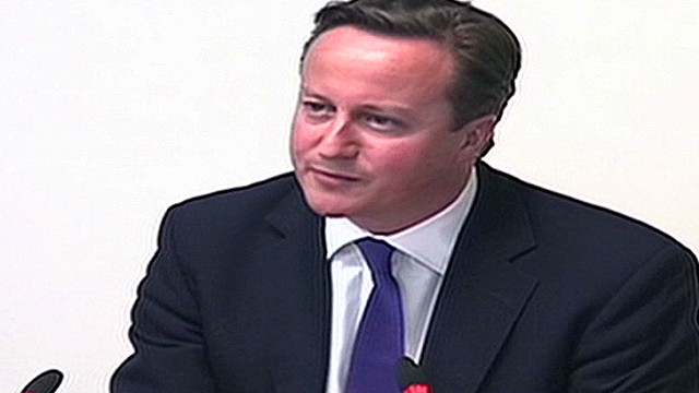 British PM takes the stand at Leveson Inquiry