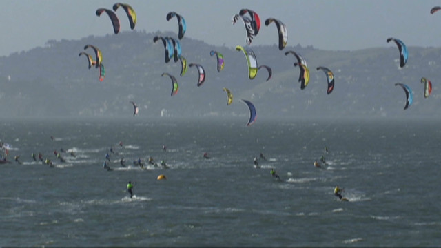 Kiteboarding's healthy rivalry