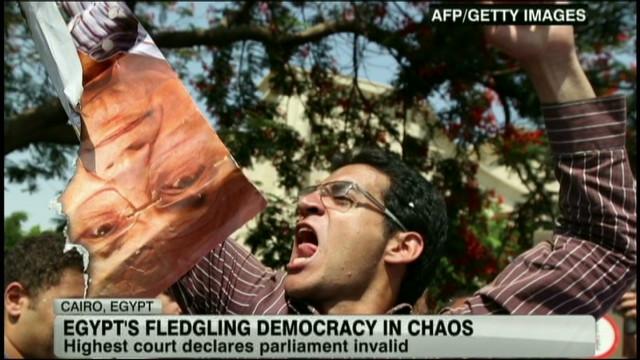 Egypt's high court disbands parliament