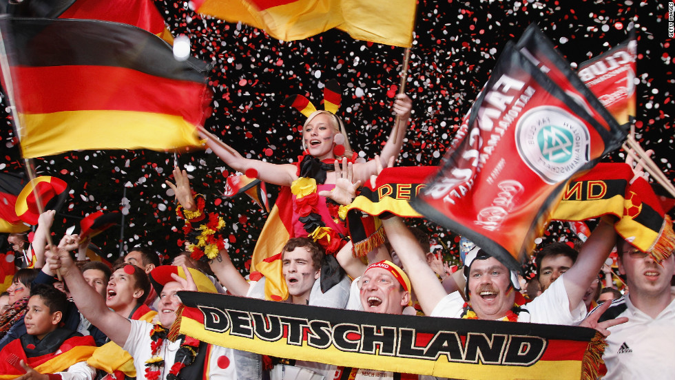 "Germany's supporters know their team will go through to the last eight with a draw against Denmark in Lviv on Sunday, and ""Die Mannschaft"" could possibly still qualify even after a defeat."