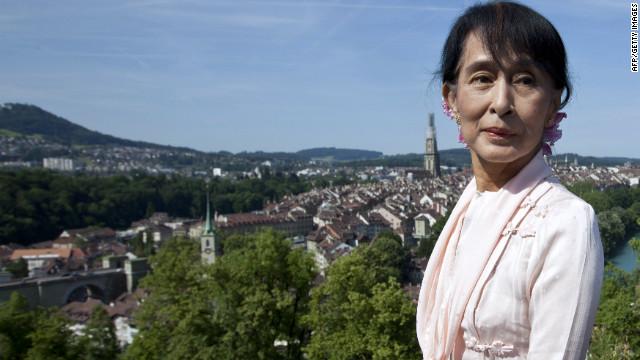 Aung San Suu Kyi recalls winning Nobel Prize