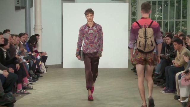 Prince Charles opens men's fashion week