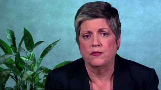 Janet Napolitano en Puerto Rico