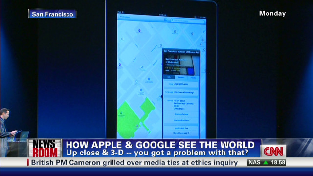 New Apple, Google Maps see all