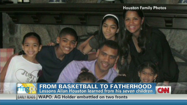 Allan Houston: From NBA to fatherhood