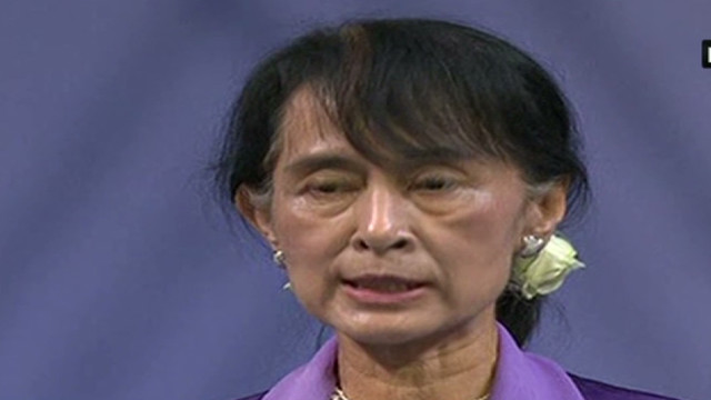 Suu Kyi: The potential is enormous