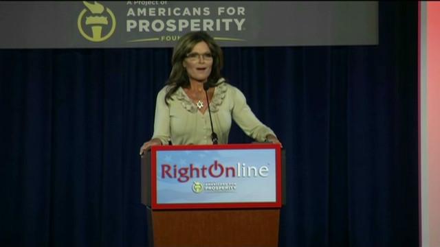 Palin: Media into 'make-crap-up-istan'