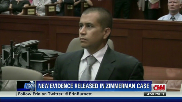 New evidence in Zimmerman case