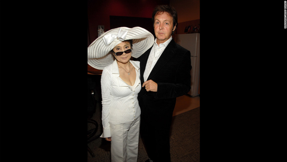 "In 2006, Yoko Ono and McCartney attend  ""LOVE,"" a Beatles-inspired performance by Cirque du Soleil in Las Vegas."