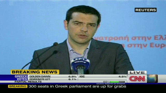 Parties react to Greek election outcome