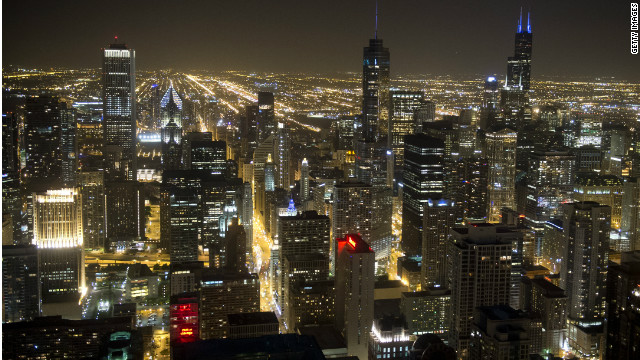 Downtown Chicago is one of the urban areas that is seeing an increase in population, writes David Frum.