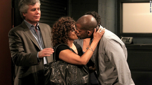 Michael E. Knight, Debbi Morgan and Darnell Williams in a scene that aired the week of September 29, 2010 on ABC Daytime's 'All My Children.'