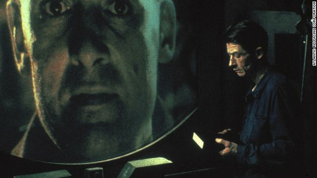 "Jason Falls suggests the notion of ""faster than realtime"" may lead to an Orwellian future as pictured in the movie ""1984."""