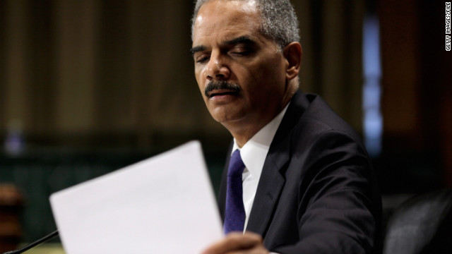 A House committee voted for a contempt action Wednesday against Attorney General Eric Holder.