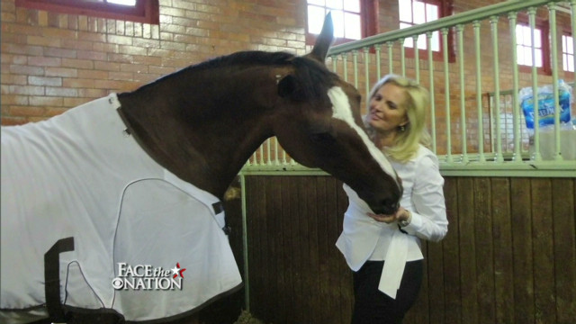 Ann Romney's horse Olympic-bound