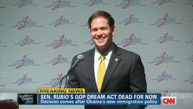 Sen. Rubio shelves GOP DREAM Act plan