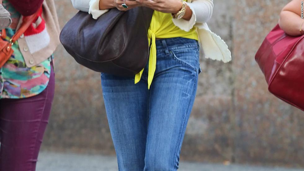 Sofia Vergara goes shopping in New York City.