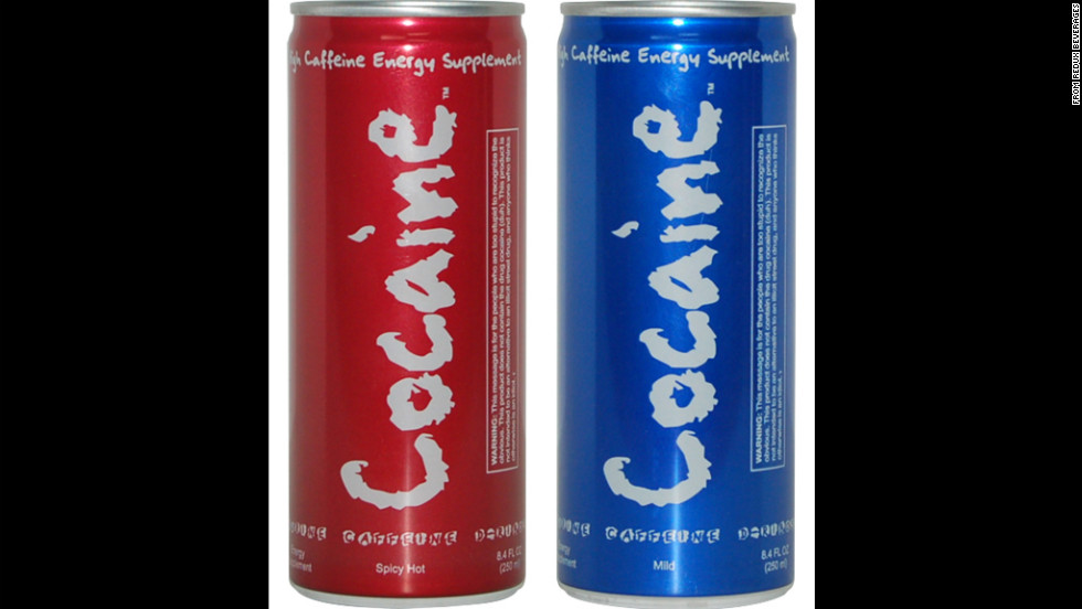 The makers of Cocaine energy drink were forced to pull their product off store shelves due to controversy surrounding its name in 2007. The U.S. Food and Drug Administration had warned the company against marketing a product that makes reference to an illegal drug.