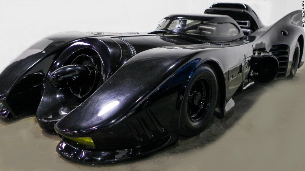The Batmobile is one of the four-wheeled fantasies visitors to the Dezer Collection can ogle.