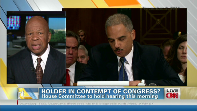 Congressman: I believe Holder