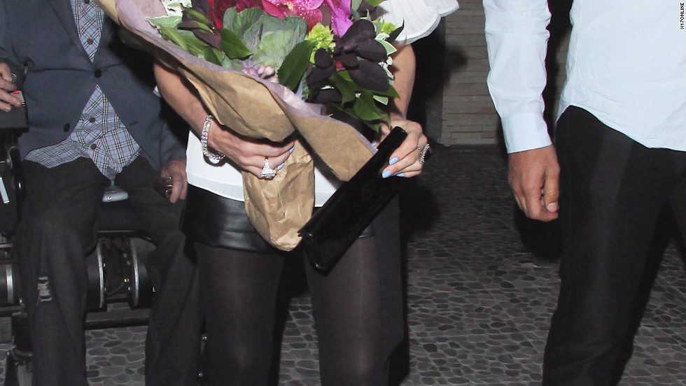 Paula Abdul celebrates her birthday in Hollywood.