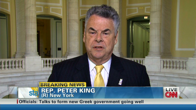 Rep. King on France bank siege