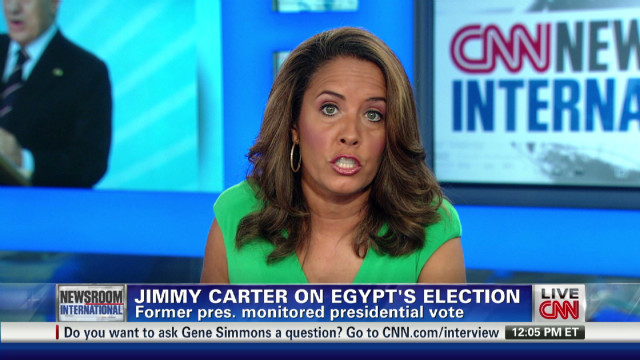 Jimmy Carter on Egypt and Syria
